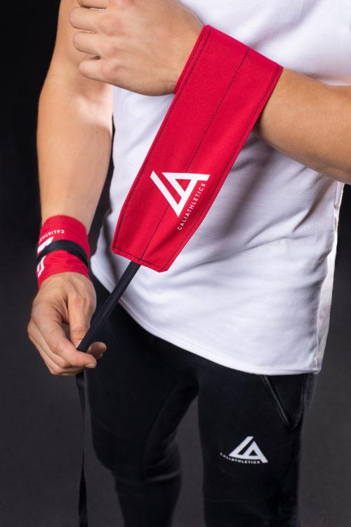 wrist wraps caliathletics red
