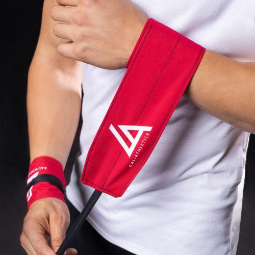 wrist wraps caliathletics red 2
