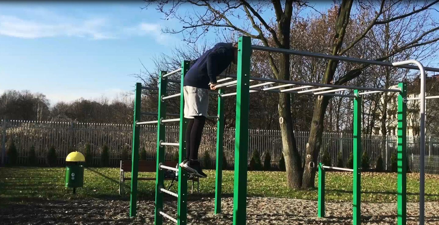 Muscle up negatives