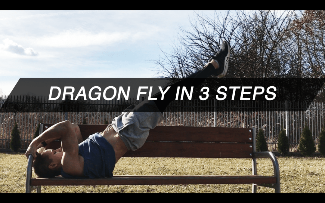 Dragon fly in 3 steps
