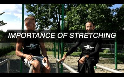 Importance of stretching and warm up