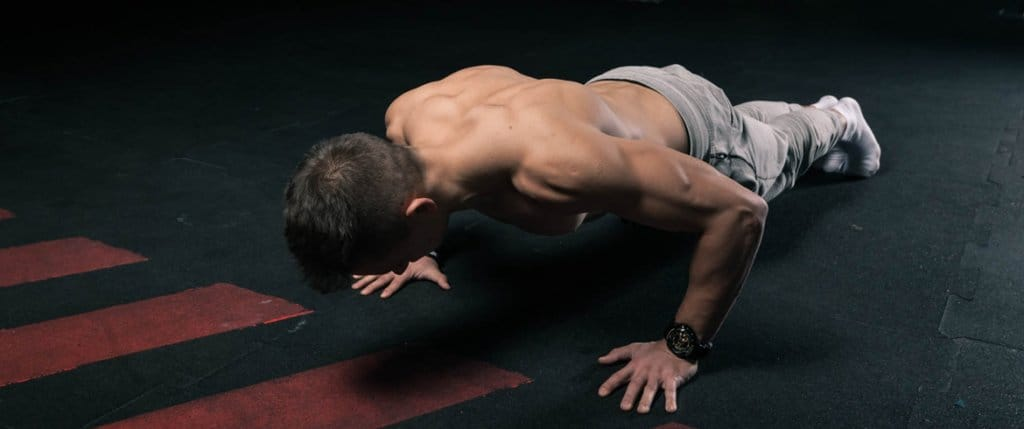 Let's do some real push ups!